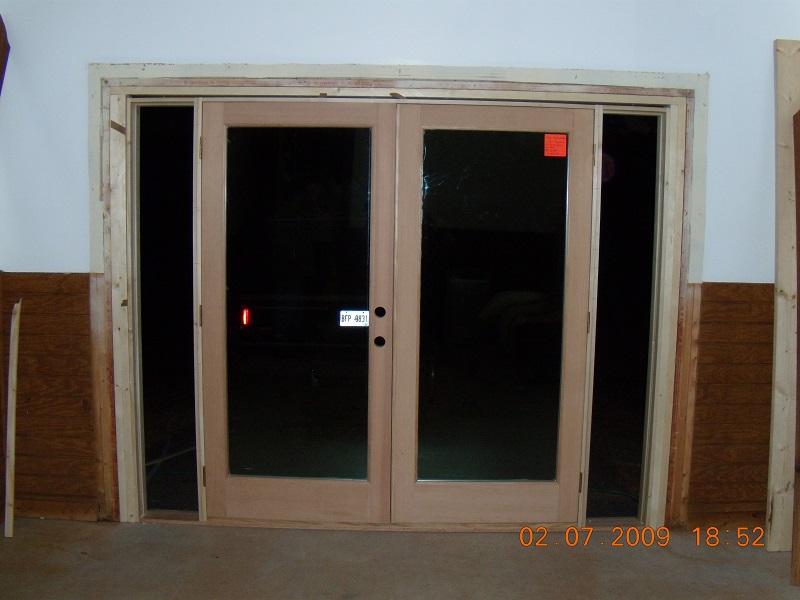 French doors exterior exterior french door installation for Entry door installation